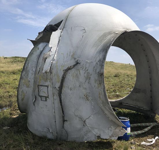 报废风机导流罩回收处理